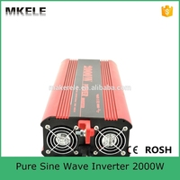 MKP2000 121R off grid pure sine wave dc to ac power inverter dc 12v ac 120v 2000w power inverter made in China