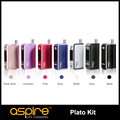 10 pcs/lot wholesale price aspire Plato kit with the feature of temperature control and wattage mode e sigaret kit promotion