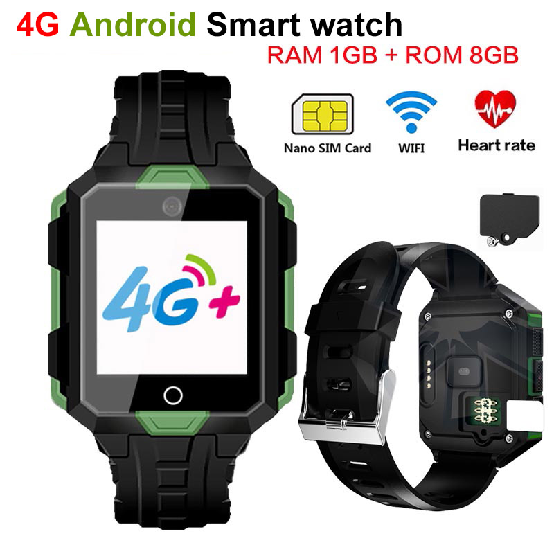 4G Smart watch M9 Android 6.0 1G RAM 8G ROM Waterproof 850mAh Battery Long Standby WIFI Smartwatch Heart Rate Blood pressure 你好 法语4 学生用书 配cd rom光盘