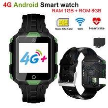Купить с кэшбэком RICHFIELD 4G Bluetooth Smart watch Android 6.0 Smart Watch with GPS Wifi SIM  M9 1G RAM 8G ROM 850mAh Sport for Men phone Watch