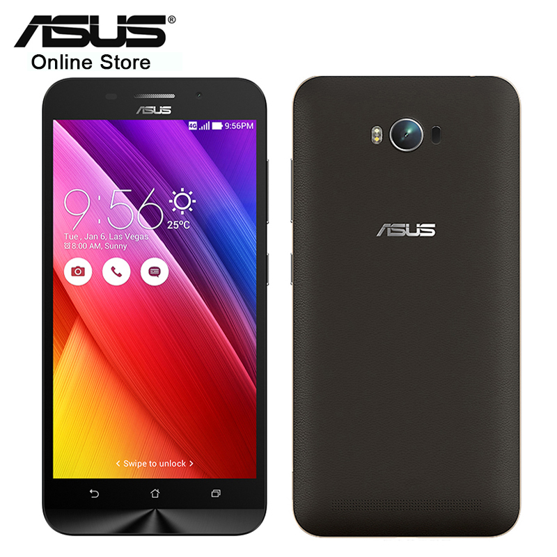 Original Asus Zenfone MAX ZC550KL 2GB 32GB Cellphone Snapdragon MSM8916 Quad Core 5.5 Inch Android 13.0MP 5000mAh Mobile Phone