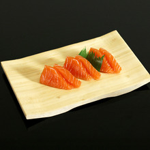 New Unique Bamboo Sushi Stool Sushi Trays Plate Tableware Japan Style Japanese Cooking Dinner Service