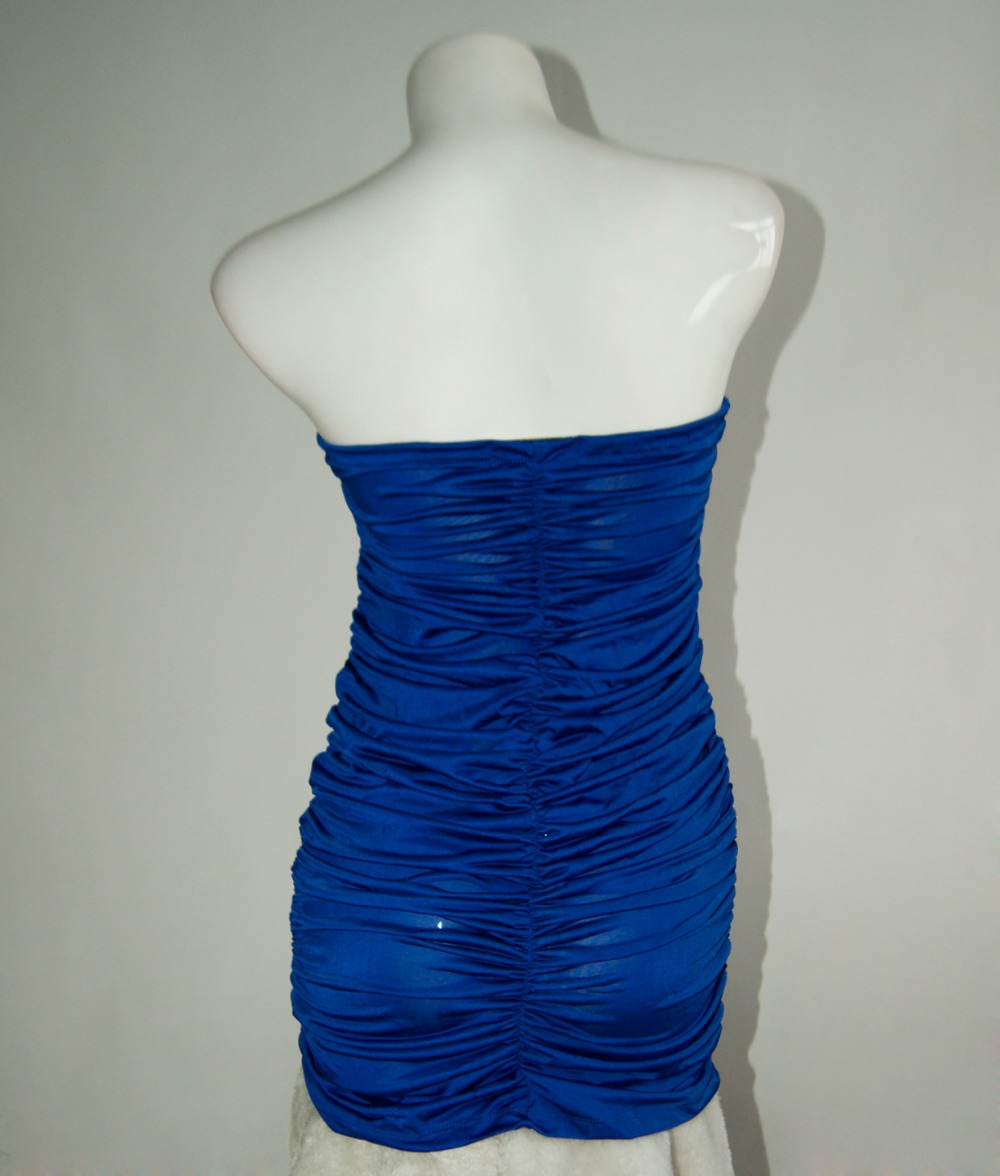 Club Tragen 9 Sexy Liebsten Vestido frau Enge Kleider Royal Blue Kurze  Frauen Minipartei kleid W9B