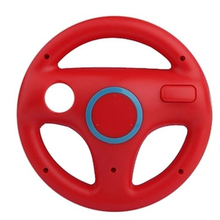 Red Green Color Steering Wheel Mario Kart Racing Games Remote Controller For Nintendo Wii