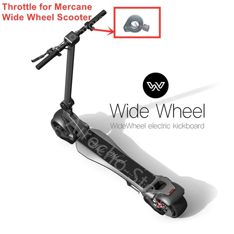 Pièces d'accélérateur d'origine pour Mercane Widewheel Kickscooter roue large Scooter électrique Skate Hoverboard accessoires d'accélérateur