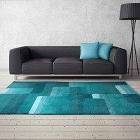 Современный минималистский гостиной ковер с и журнальный столик подушки мягкий супер мягкие скандинавский стиль ковры