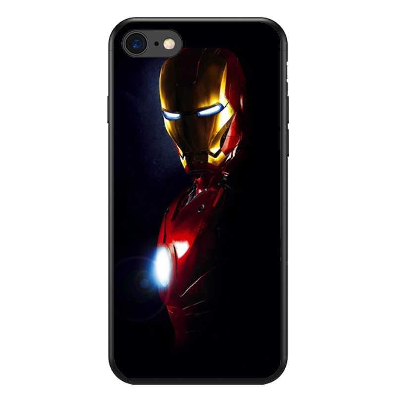 Vengadores de Marvel Comics héroes Collage suave de silicona caja del teléfono TPU para iphone 6 6s 6plus 7 8 plus 5 5S 5C XS XR XSMAX