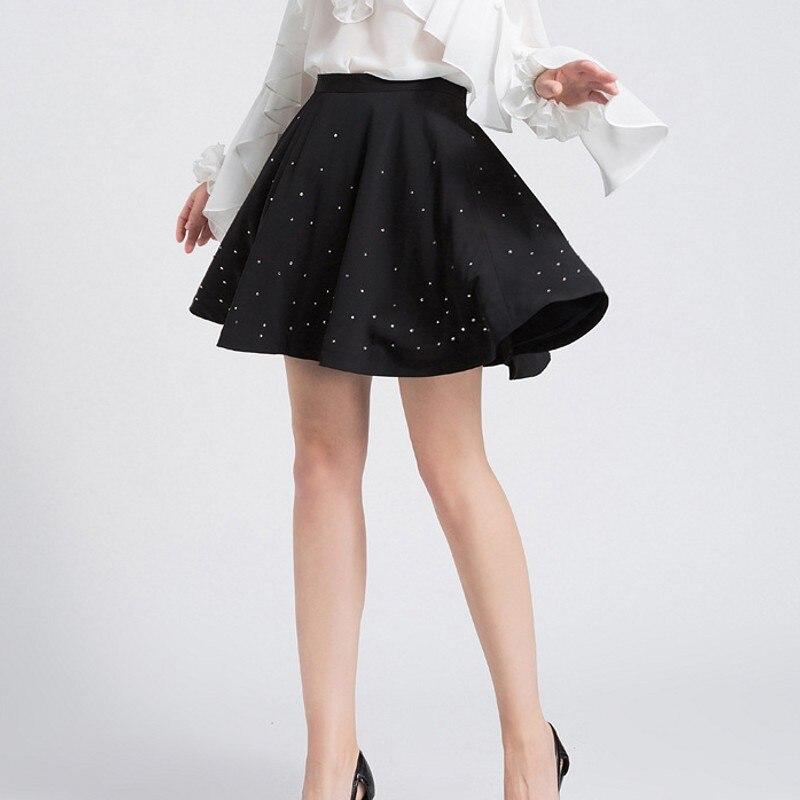 De Oficina Faldas 2019 Falda Mujer Alta Picture Verano Cintura Elegantes Gasa Damas Negro La As Peals Moda Same 5OFnwAgxwq