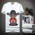 The new 2017 t-shirts with short sleeves men Chinese wind cotton embroidery round neck T-shirt
