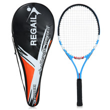 1Pc High Quality Carbon Tennis Rackets Practice Training Tennis Racquet With Cover Bag For Indoor Outdoor Men And Women Hot(China)