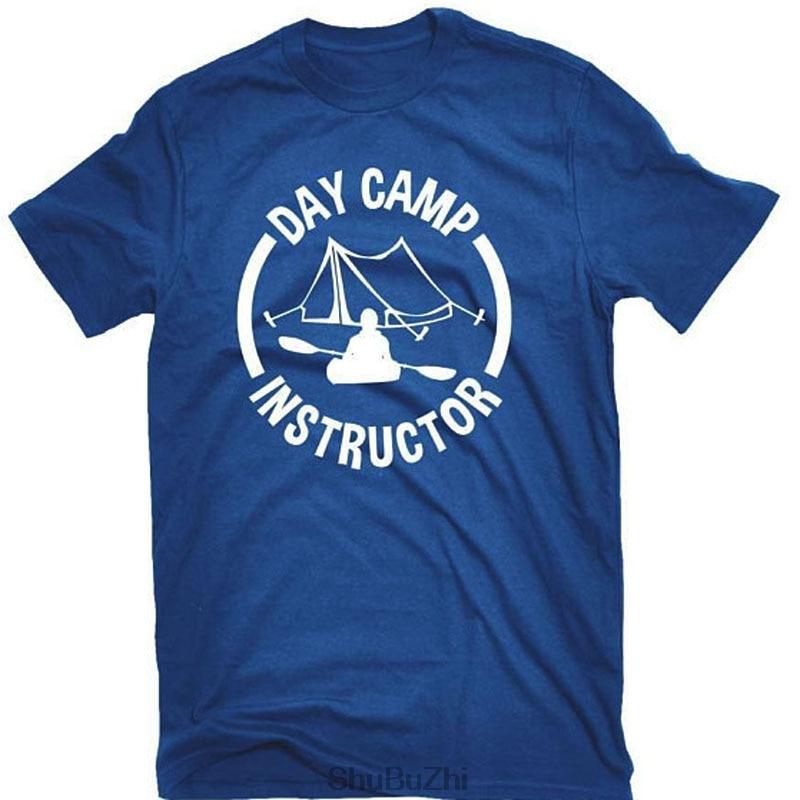 mens t-shirts cotton tops Day Camp Instructor T-shirt Outdoor Education Teacher new brand men tshirt summer unisex teeshirts
