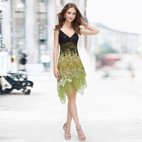 HE00045 Ever Pretty Flowing Lace Cocktail Dresses Evening