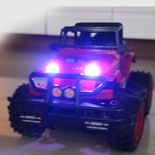 1/20 Drift Speed King Radio 4 channel Remote Control Cars with light RC Jeep SUV Car self control Best Game Toys