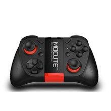 Mocute 050 controlador sem fio gamepad remoto joystick para ios android tablet caixa de tv titular stander vr smartphone gamepad