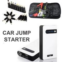 Mini Portable Car Jump Starter Multi Function Diesel Power Bank Bateria Battery 12V Peak Car Charger