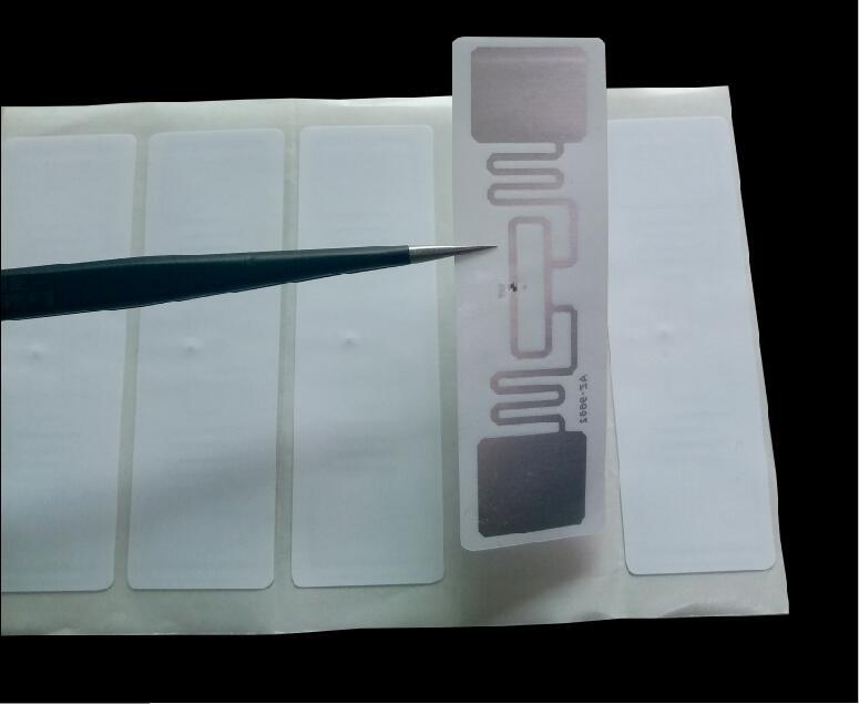 1000pcs UHF RFID Tag ISO 18000-6C 915MHz AZ 9662 H3 Chip Passive RFID UHF Sticker Label Size: 73*23mm Read Range 6m uhf readers 18000 6b card 915 uhf long range card ic card uhf rfid paper tag sticker passive uhf paper windshied tag cheap tag