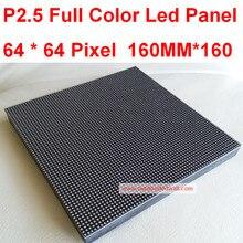 P2.5 colo completa pantalla led, pantalla rgb pantalla led de interior, 1/32 de exploración, 160*160mm 65*64 píxeles, resolución de ALTA DEFINICIÓN, envío Gratis