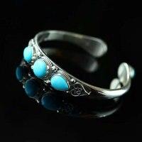 RADHORSE 925 серебряные браслеты для женщин ювелирные изделия бирюзовый непальский стиль ручное производство может тонкой настройки браслеты