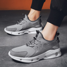 Male Korean version of running shoes trend 2019 new breathable mesh summer mens casual sports