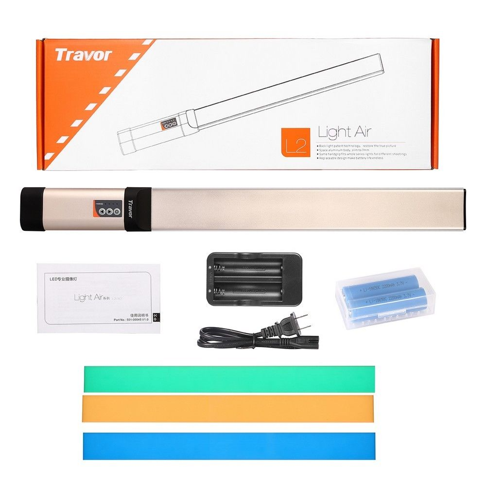 Handheld 98 LED Video Light 3200 10000k Wand Stick Tube DV Photography Ice Lighting for canon