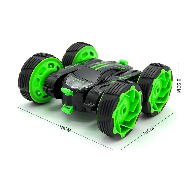 RC Car 4WD Truck Scale Cüt tərəfli 2.4GHz Bir açar - Uzaqdan idarə olunan oyuncaqlar - Fotoqrafiya 6