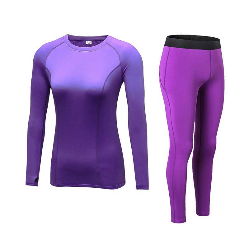 Women Cashmere Thick Velvet Thermal Underwear Spring Autumn Winter Thermo Sporting Set Female Fitness Gymming Long Johns 2122