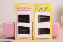 Новый корейский ребенок ребенок дети взрослых мода твердые черный заколка заколки для волос желтый карты боб Pin женщин девушки аксессуары для волос