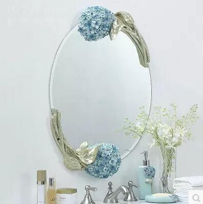 Rural elliptical bathroom mirror. Bathroom mirror. Wedding wall goggles. rural livelihood diversification