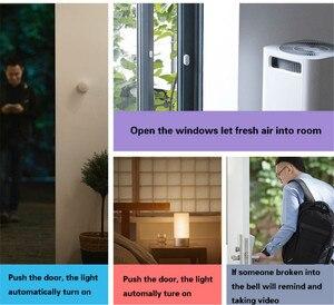 Image 5 - 5pcs Original Xiaomi Mi Intelligent Mini Door Window Sensor Automatic Lights Human Body Sensor For Smart Home Kits Alarm System