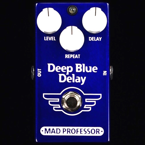 Mad Professor Deep Blue Delay AMBIENT DELAY Effects Pedal NEW (Facotry Made) deep blue