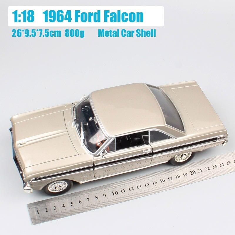 1:18 Schaal klassieke retro Road handtekening 1964 FORD FALCON Sprint hardtop Diecasts & Toy Vehicles auto modellen speelgoed collectie jongens-in Diecast & Speelgoed auto´s van Speelgoed & Hobbies op  Groep 2