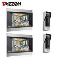 Tmezon Telefone Video Da Porta Sistema de Dois 7
