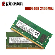 Kingston DDR4 4G 8G 16G pamięć ram do laptopa 2133 2400 Memoria DRAM Stick do notebooka 100% oryginalny 4GB 8GB 16GB darmowa wysyłka