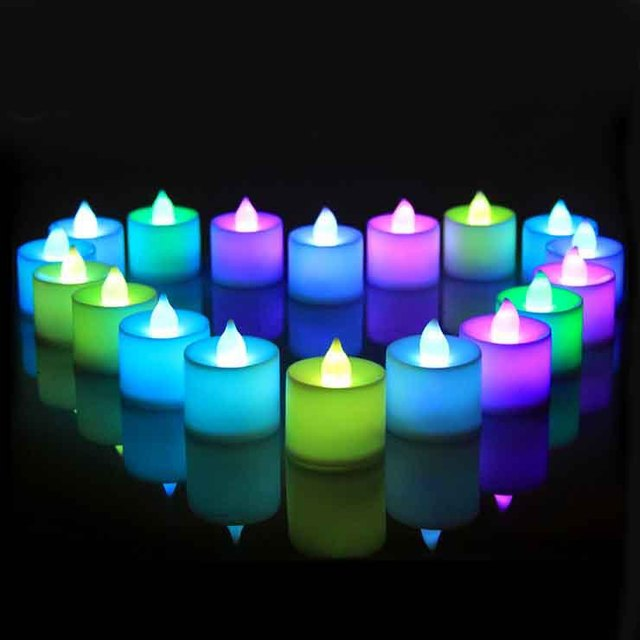 Magic Led Smokeless Candles Eco Friendly Romantic Party Decoration
