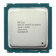 Intel Xeon E5 2697 V2 מעבד 2.7 GHz 30 M מטמון LGA 2011 SR19H E5 2697 V2 שרת מעבד