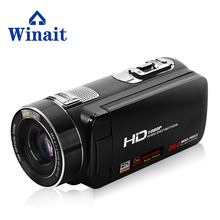Free Shipping Winait 24MP HD font b Camcorder b font 1080P with Touch Display Digital Video
