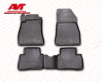 Floor mats case for Nissan Juke 2010 4 pcs rubber rugs non slip rubber interior car styling accessories