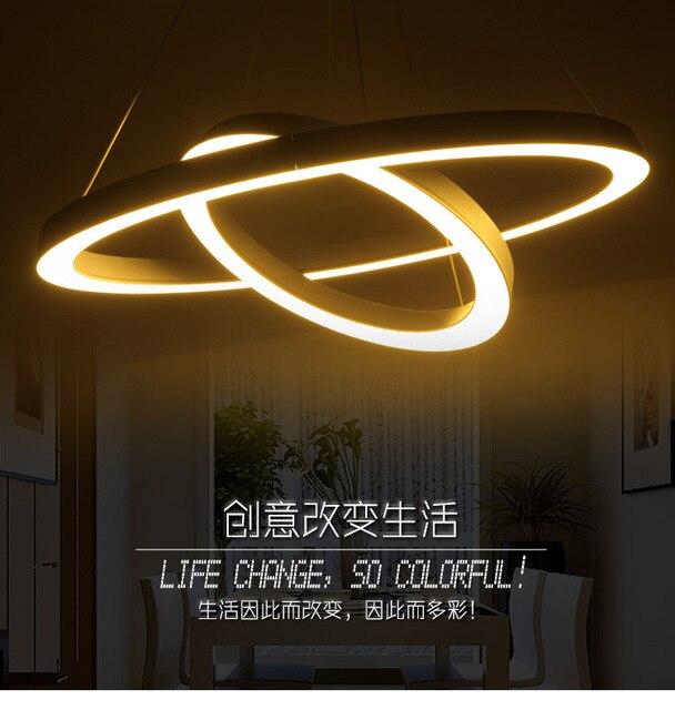atmosfrica saln lmparas estudio dormitorio de la lmpara moderna minimalista moda de acrlico led techo