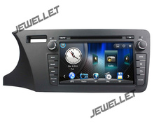 Car GPS radio navigation DVD for Honda City 2014-2016 with Bluetooth, Ipod 1080P