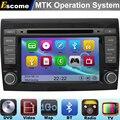 MTK3360 Automotivo DVD Del Coche Para Fiat Bravo 2007 2008 2009 2010 2011 2012 con el Bluetooth de Radio Estéreo del GPS de Navegación