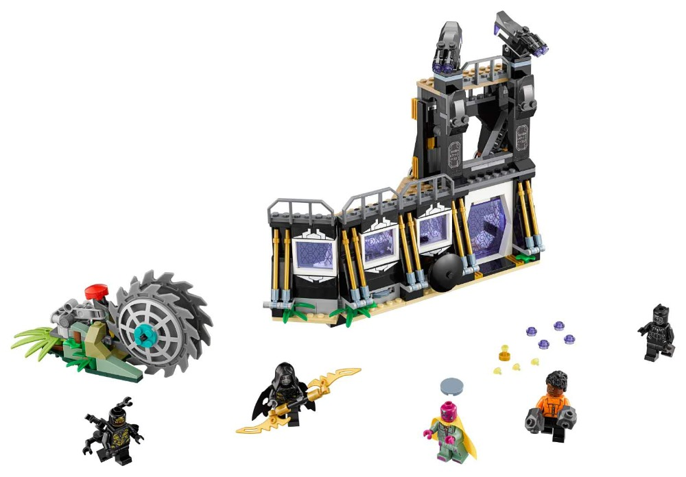 LEPIN 07106 Super Heroes Series 466pcs Corvus Glaive Thresher Attack Building Block Brick Set Toys For children Legoing 76103 legoing chaos warriors caves 70596 ninja series 1307 building blcok set brick compatible 10530 toys for children gift