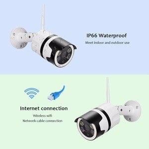Image 2 - 2MP מיני בית Wifi אבטחת מצלמה חיצוני 1080 P HD Wi Fi IP מצלמה עמיד למים IR ראיית לילה טלוויזיה במעגל סגור מעקבים Bullet מצלמת
