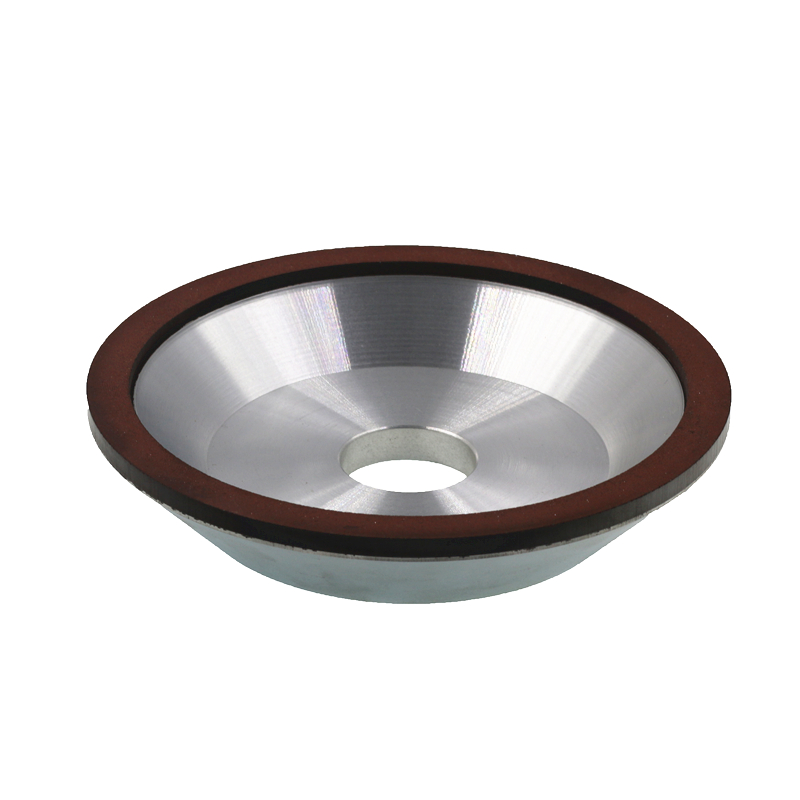 Diamond grinding wheel. Concentration: 75%. Bowl shape diamond wheel. Grinder wheel. 150*32*32*10*3 75% concentration parallel resin diamond grinding wheel alloy wheels abrasive superhard materials 200 60 10 10