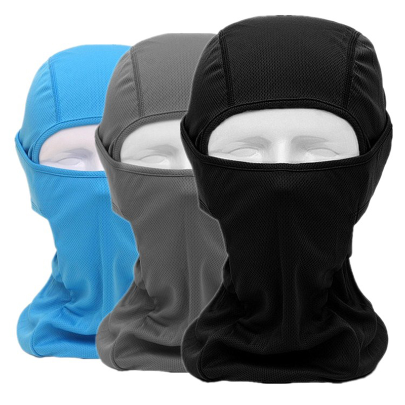 Motorcykel Mask Racing CS Tactical Balaclava Vindsäker Dammsäker Cap Riding Game Huvudbonader Flying Hood Riding Equipment