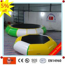 Profesjonalne stosowane na zewnątrz trampolina bezpośrednio z fabryki 0 9mm plandeki pcv gigantyczne nadmuchiwane powietrza wodna trampolina na sprzedaż tanie tanio Duży zewnętrzny pompowany rekreacyjny 12-15 lat STARSZE DZIECI th-trampaulin 014 Hi Bouncia water games as pics or customized