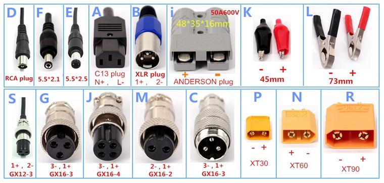 15A 14A 13A 12A Yangtze Para Li-Ion 44.4 V Bateria Lipo