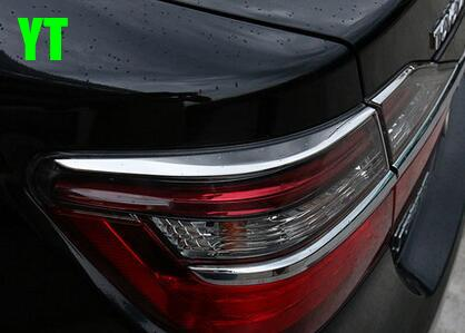 AUTO accessories,rear light cover trim moulding for Toyota camry 2015-2017,stainless steel ,car accessories