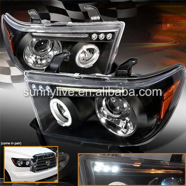 For TOYOTA Tundra 2007-2013 year  led headlight JY рулетка tundra premium 881726