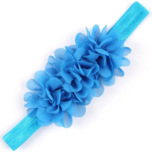 1PC  Flower Headband Children Headwear Pearl Infant Toddler Girls Headbands Kids Hair Bands Accessories w-01 5
