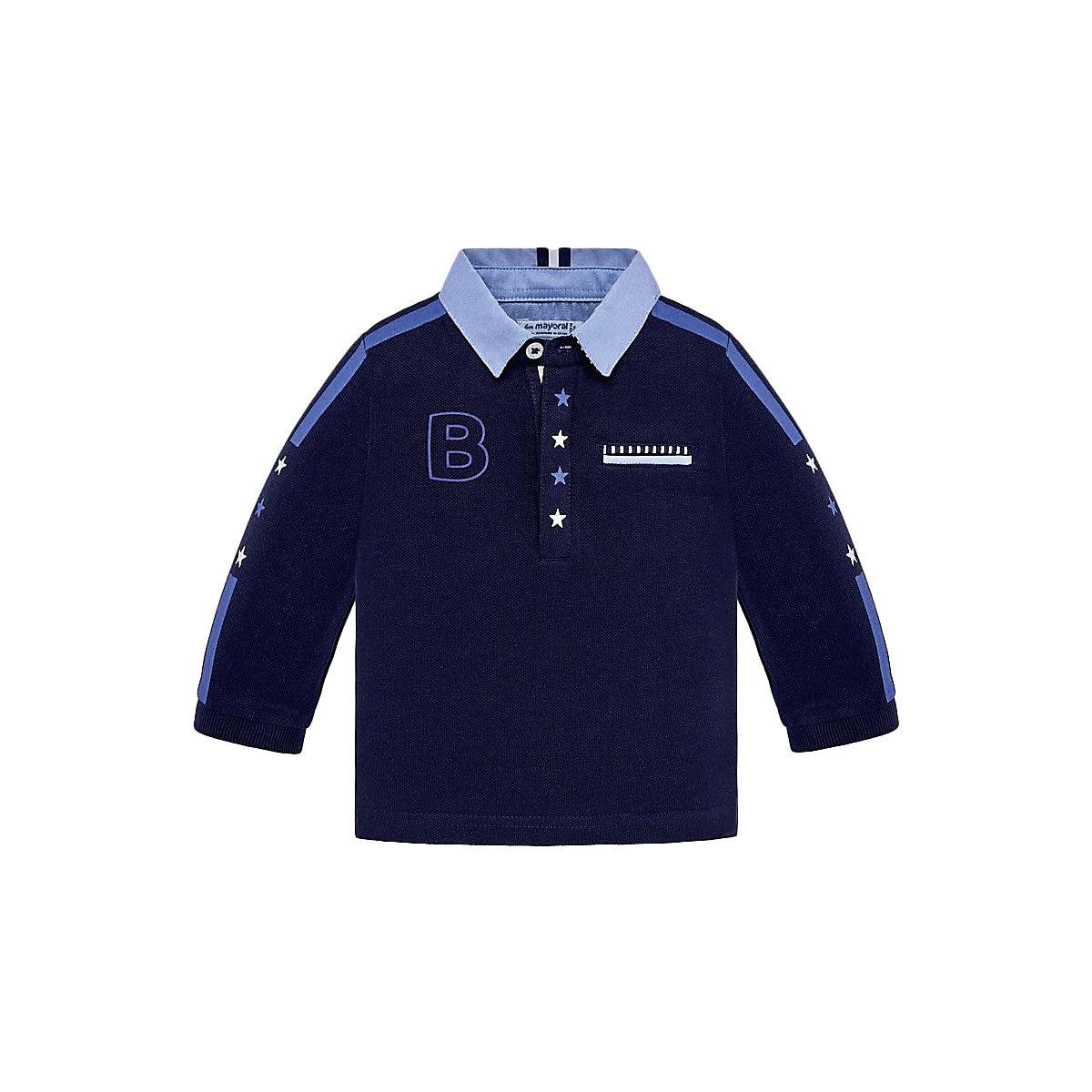MAYORAL Polo Shirts 10685245 children clothing t-shirt shirt the print for boys tiger 3d print basic t shirt